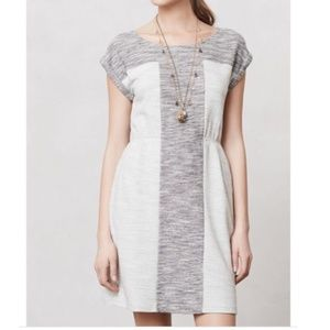 Anthro Grey Edme & Esyllte Spacedye Casual Dress